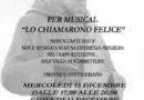 """Nicosia, al via il 13 e 14 dicembre i provini per il musical """"Lo chiamarono Felice"""""""