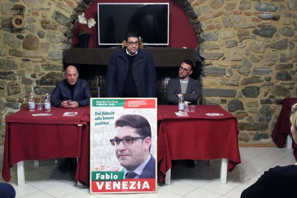 Fabio venezia candidato alla camera dei deputati per il for Web tv camera deputati