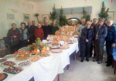 Enna, la festa di San Giuseppe al Centro Anziani Don Leo Vetri