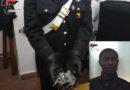 Regalbuto, arrestato un giovane nigeriano trovato in possesso di undici dosi di marijuana