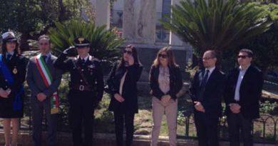 Leonforte, celebrazione del 73esimo anniversario della liberazione d'Italia il 25 aprile