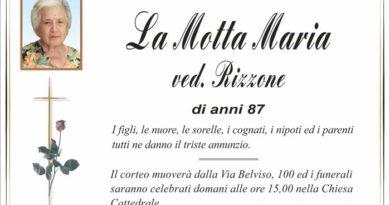 Annuncio Agenzia Onoranze Funebri Marassà & Rugolo