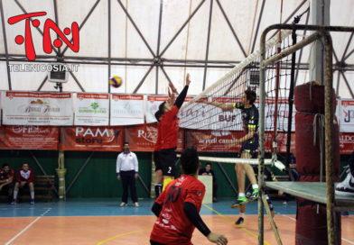 Pallavolo maschile serie C, sconfitta dei Diavoli Rossi Nicosia contro la capolista Aquila Bronte