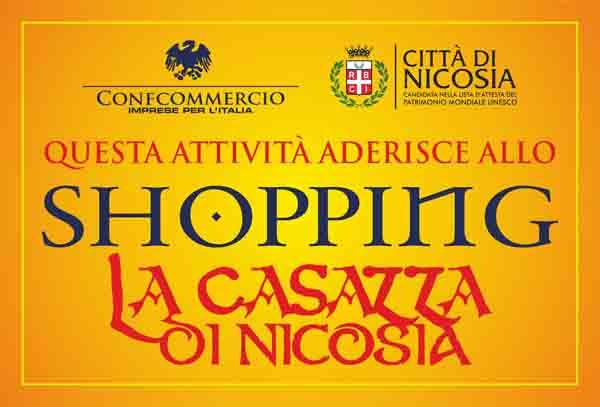 """Shopping per """"La Casazza di Nicosia"""", nuova iniziativa della Confcommercio"""