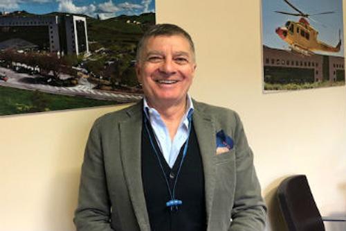 Asp Enna: i saluti del commissario straordinario Antonino Salina