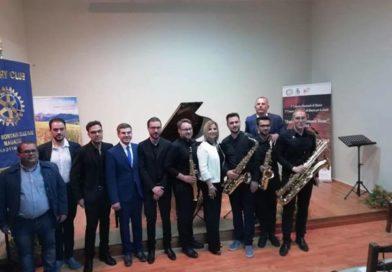 """Primo premio assoluto per il quartetto di saxofonisti con il nicosiano Marco Agozzino, al concorso nazionale """"Ama Eventi – Armonie Sicane"""""""