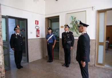 """Il Comandante Interregionale Carabinieri """"Culqualber"""" di Messina in visita al Comando Compagnia di Nicosia"""