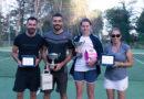 """Enna, Corrado Melilli nel maschile e Simona Angheluşi nel femminile trionfano al torneo tennistico di 4° categoria """"Maria SS. della Visitazione"""""""