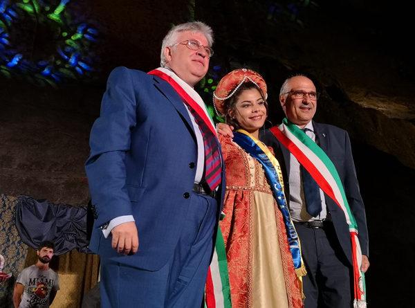 E' Gaia Rigatuso di Gangi la Dama dei Castelli di Sicilia 2018
