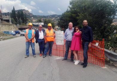 Nicosia, consegnati i lavori di manutenzione straordinaria e consolidamento della strada in contrada Torretta