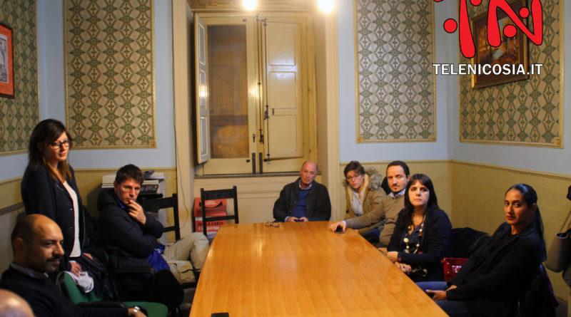 Visita dell'eurodeputato Ignazio Corrao del M5S a Nicosia – VIDEO