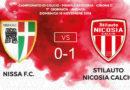 Calcio Prima Categoria, vittoria esterna del Città di Nicosia contro la Nissa