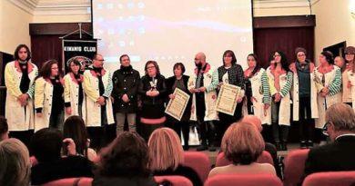Enna, consegnato il Premio Kiwanis della Bontà 2018 alla memoria di Elena Marasà e Alice Licata