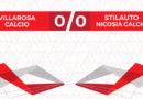 Calcio Prima Categoria, pareggio a reti bianche per il Città di Nicosia a Villarosa