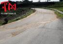 Chiusa per un movimento franoso un tratto della provinciale 34 Gagliano-Troina