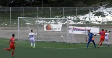 Calcio serie D, il Troina si aggiudica al fotofinish il match contro la Turris – VIDEO