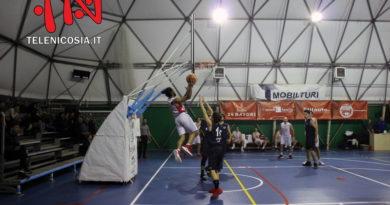 Basket, Mens Sana Mascalucia travolge il Città di Nicosia – VIDEO