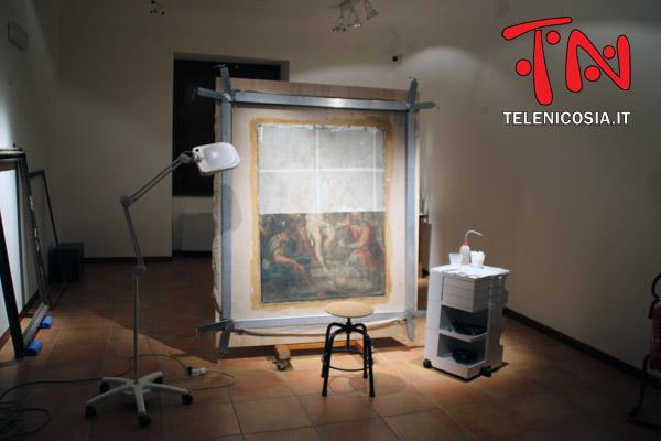 Nicosia, sabato 16 febbraio verrà presentata la tela restaurata di Filippo Randazzo