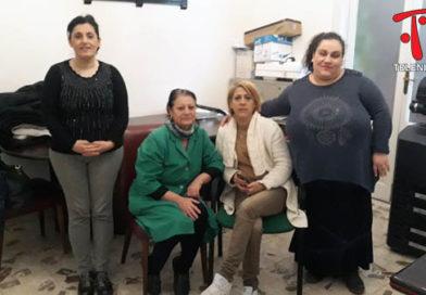 Nicosia, protesta dei lavoratori del cantiere di servizi ex reddito minimo