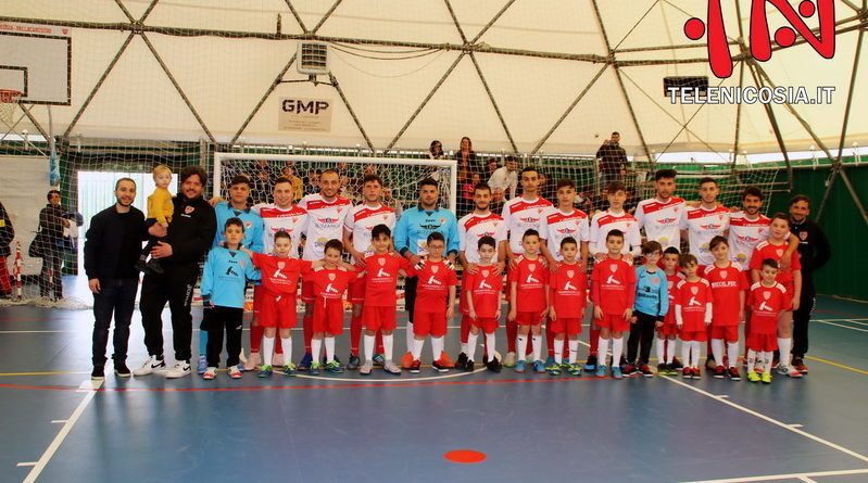 Calcio a 5 serie C2, si conclude con una vittoria in casa il campionato del Città di Nicosia – FOTO & VIDEO