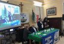 Elezioni Europee 2019. Il candidato della Lega, Igor Gelarda, si presenta agli elettori di Calascibetta