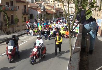 Nicosia, si è svolta l'ottava edizione della passeggiata ciclo-podistica Pasqua nicosiana – VIDEO