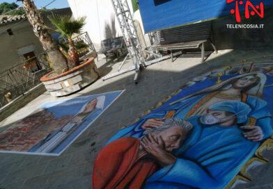"""Nicosia, al via la quarta edizione """"Madonnari di Sicilia"""""""
