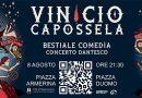 """Piazza Armerina, l'8 agosto Vinicio Capossela nel concerto dantesco """"Bestiale Comedìa"""""""