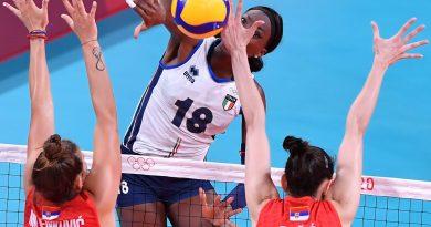 Italvolley donne fuori ai quarti, Serbia vince 3-0