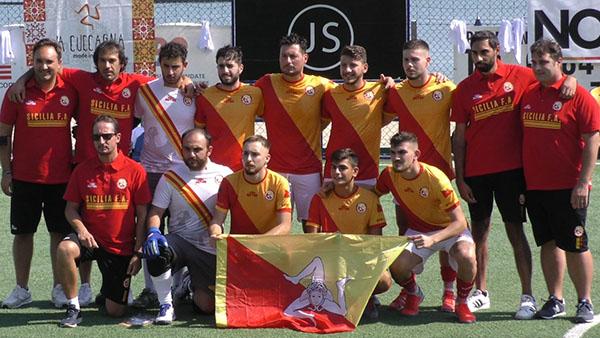 Calcio. Esordio della Nazionale Siciliana alla Mediterranean Cup 2021 – The Futsal Premiere
